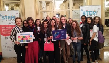 "TOGETHER at the ""Girls in ICT"" event in Milan"
