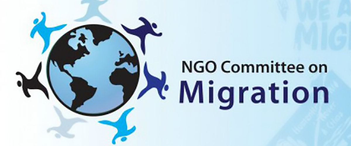 NGO Committee on Migration Banner