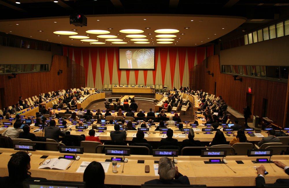 Форум высокого уровня по вопросам борьбы с исламофобией, Центральные учреждения ООН