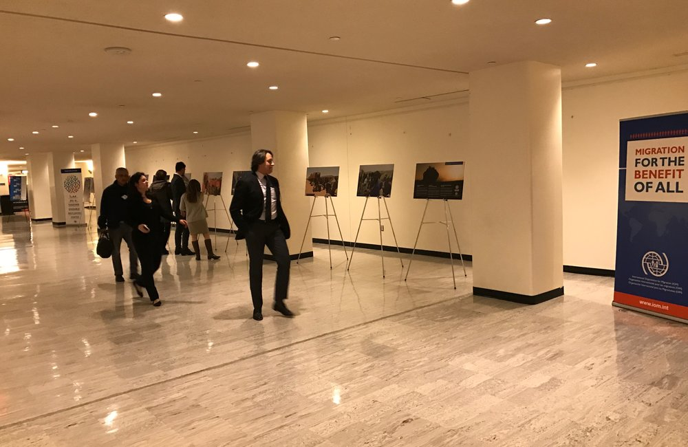 Migration for the benefit of all - an exhibition by IOM at UNHQ in New York