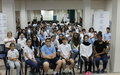 "UNIC Beirut and OHCHR screen ""The Crossing"" Movie at local school"